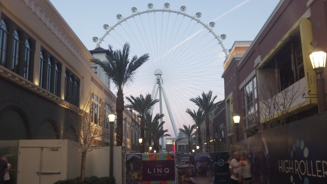 Between Harrah's and The Linq - 2014 Image ©2015 Marquessa Matthews