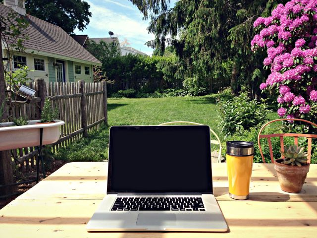 the space to write