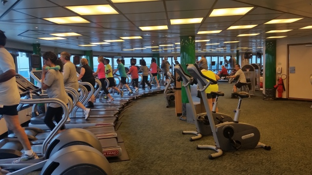 Gym, Star Princess 2016
