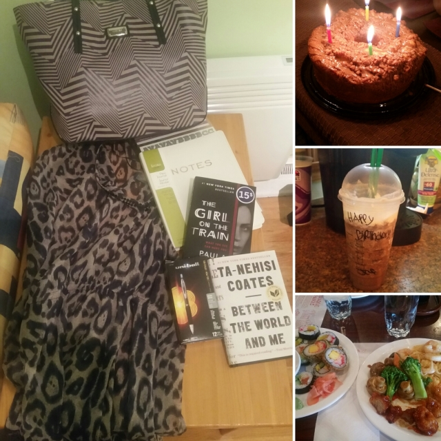 Warm and fuzzy birthday feels from October...